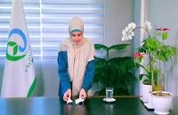 آموزش ساخت ماسک خانگی در وضعیت کمبود ماسک
