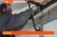 آموزش نصب کرکره برقی - تعویض فنر پیچشی درب کرکره برقی