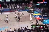 خلاصه بازی بسکتبال بروکلین نتس - بوستون سلتیکس