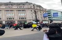 عزاداری در لندن (روز عاشورا)