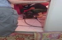 استفاده از فنر لوله بازکنی جهت باز کردن کفشور