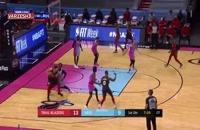 خلاصه بازی بسکتبال میامی هیت - پورتلند بلیزرز