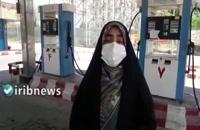 سوخت گیری در پمپ بنزین های آبادان متوقف گردید
