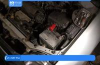 تعمیر موتور تویوتا - عیب یابی روشن نشدن خودرو بررسی باتری