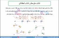 جلسه 34 فیزیک نظام قدیم - حرکت شناسی 12 - مدرس محمد پوررضا
