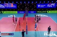 خلاصه بازی والیبال ایران - اسلوونی