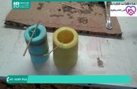 چگونگی ساخت شمع با قالب های مختلف