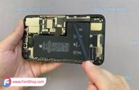 آموزش تعویض باتری ایفون 11 پرو مکس - فونی شاپ