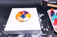 آموزشی ساده برای ساخت تابلو رنگ