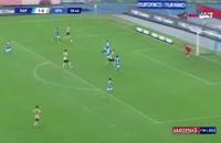 خلاصه بازی تیم های ناپولی 3 - اسپال 1