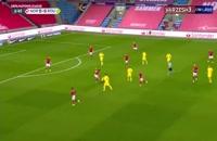 خلاصه بازی فوتبال نروژ 4 - رومانی 0
