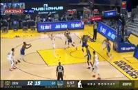 خلاصه بازی بسکتبال گلدن استیت - دنور ناگتس