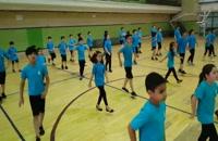 رقص پرنشاط کوچولوهای آیلان در تهران