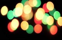 ویدیو فوتیج بوکه های رنگارنگ 17