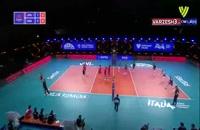 خلاصه بازی والیبال ژاپن - صربستان
