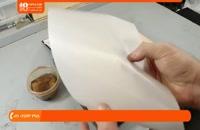 حکاکی روی چرم - استفاده از قلم های مختلف