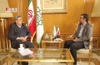 گفت و گو با شهردار تهران