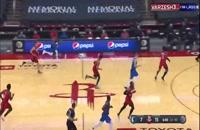 خلاصه بازی بسکتبال هیوستون راکتس - دالاس ماوریکس