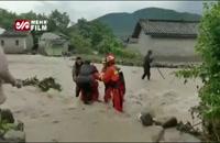 سیل مرگبار در چین