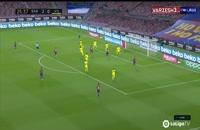 خلاصه بازی فوتبال بارسلونا 4 - ویارئال 0