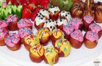 طرز تهیه لقمههای شیرین مخصوص ماه رمضان