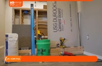 آموزش نصب سنگ آنتیک - چگونگی استفاده از نوار سنگ فرش یا شومینه