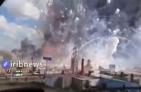 انفجار شدید در یک کارخانه فشفشه سازی ترکیه