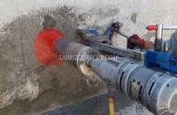 برش دیوار بتن مسلح در فولاد بناب