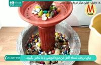 روش ساخت آبنما و با بطری پلاستیکی و زیرگلدانی