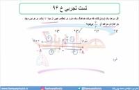 جلسه 145 فیزیک دوازدهم - نوسانگر هماهنگ ساده 8 و  تست تجربی خ 96 - مدرس محمد پوررضا