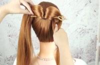 آرایش موی دخترانه مجلسی
