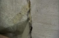 ترمیم ترک دیوار با ملات پلیمری دو جزئی