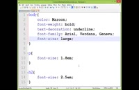 قسمت دهم آموزش HTML و CSS