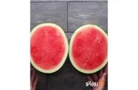 خوشمزه روز: گریل هندوانه ای با کباب میوه