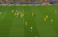 خلاصه بازی فوتبال اوکراین 1 - آلمان 2