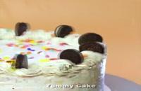 آموزش کیک پزی با شکلات و بیسکویت