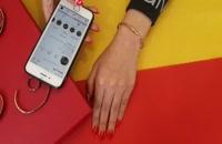 دستبند مسی ساده پیچ متوسط کد JW68