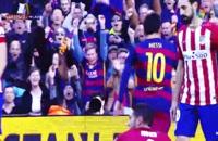 پیش بازی دیدار تیم های بارسلونا - اتلتیکو مادرید