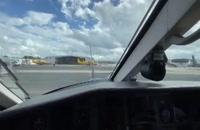 نحوه استارت هواپیما