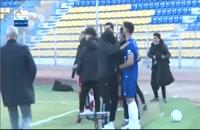 درگیری سنگین در پایان بازی گل گهر و تراکتور
