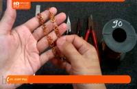 آموزش ساخت زیورآلات | زیورآلات مسی | زیورآلات دست ساز (انگشتر با گارنت)