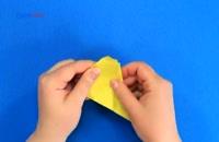 آموزش ساخت ماهی اوریگامی با دهان متحرک