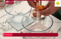 آموزش شیرینی پزی - طرز تهیه چیز کیک شکلاتی با آلبالو