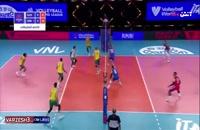 خلاصه بازی والیبال استرالیا - صربستان