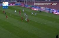 خلاصه مسابقه فوتبال شهر خودرو 1 - نساجی مازندران 0