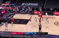 خلاصه بازی بسکتبال لس آنجلس کلیپرز - واشنگتن ویزاردز