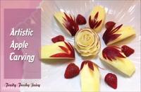 آموزش میوه آرایی - هنر نمایی با سیب