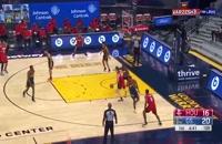 خلاصه بازی بسکتبال گلدن استیت - هیوستون راکتس