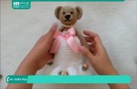 آموزش بافت عروسک دخترانه به روشی ساده
