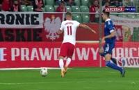 خلاصه بازی فوتبال لهستان 3 - بوسنی 0